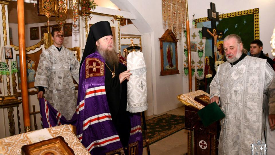 У селі на Волині освятили престол храму УПЦ МП. ФОТО