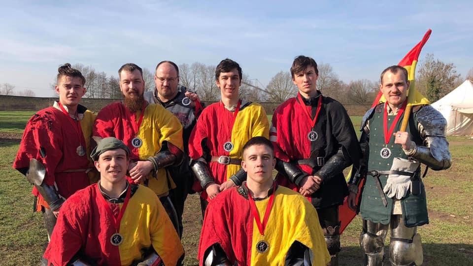 Луцькі лицарі вибороли призи на міжнародному турнірі в Німеччині. ФОТО