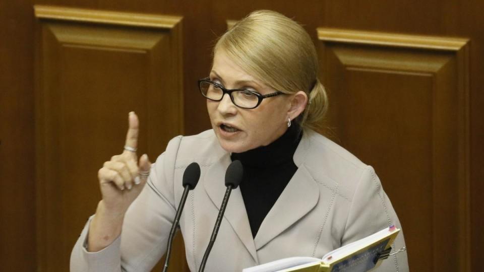Тимошенко записала звернення до Порошенка і  Зеленського. ВІДЕО