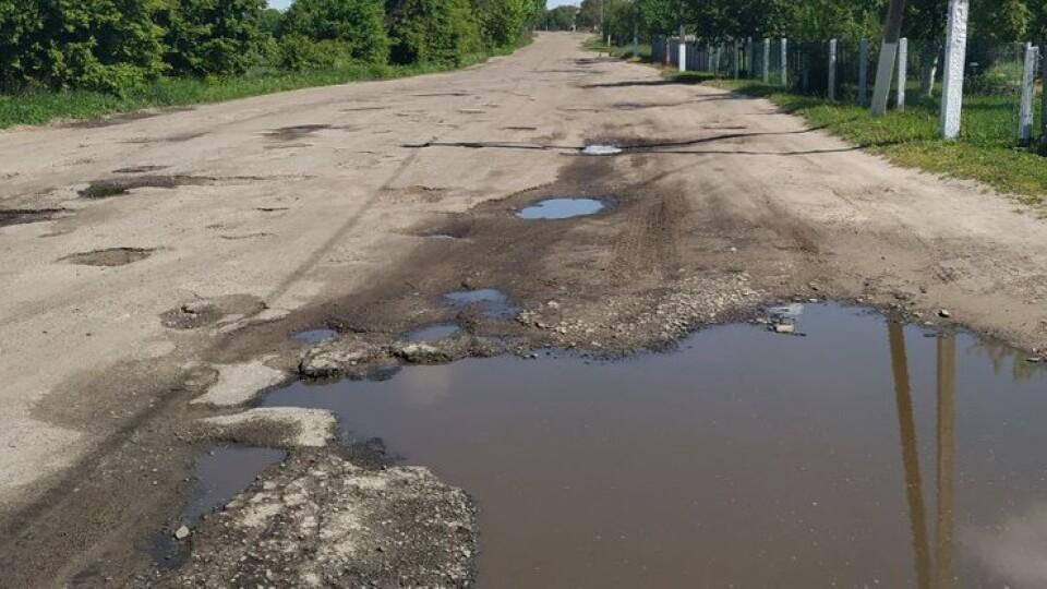 Оголосили тендер на ремонт «найгіршої» дороги на Волині