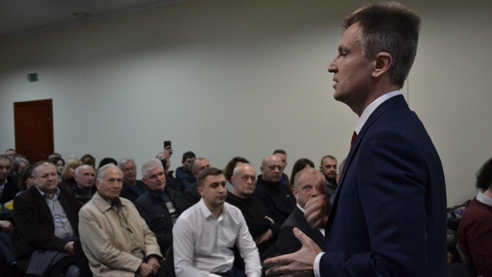 Валентин Наливайченко зустрівся з лучанами: про що говорив кандидат у президенти. ФОТО