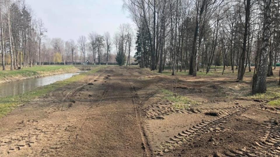 У Луцьку взялися за центральний парк: розчищають хащі та облаштують нову алею. ФОТО. ВІДЕО