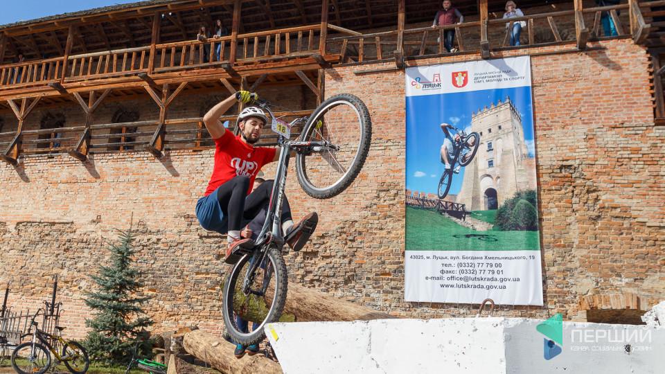 У Луцьку проходять Міжнародні змагання з велотріалу. ФОТО