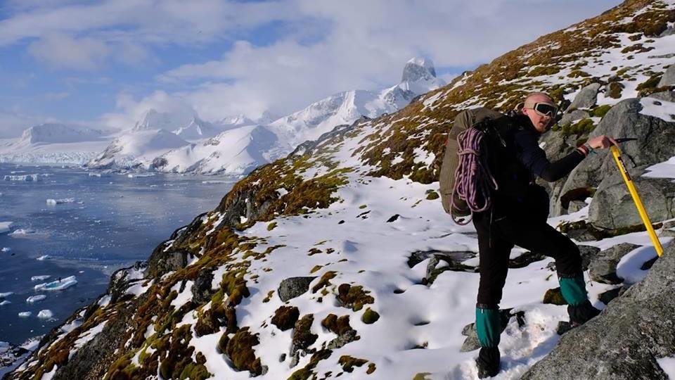 Лучанин з'їздив до Антарктиди і шукає нових пригод