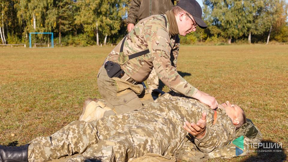 Як у військах НАТО: на Волині вчилися рятувати життя. ФОТО