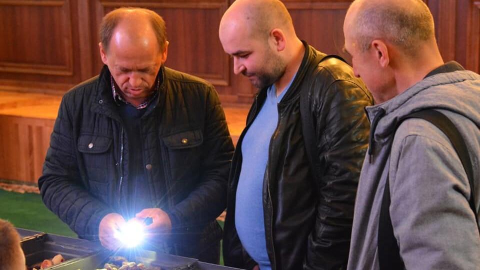 На аукціоні у Луцьку за бурштин вторгували рекордну суму