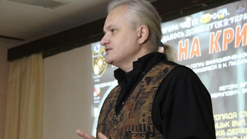 У відомого луцького активіста Ігоря Левчука поліція знайшла незаконну зброю, – ЗМІ