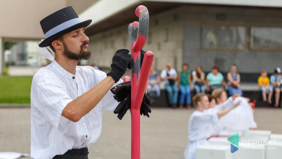 Розповіли, які перформанси будуть на луцькому фестивалі «Мандрівний вішак»