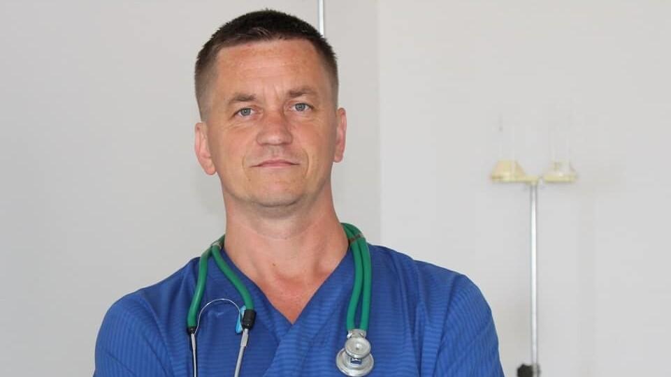 Трагічно загинув волинський лікар-анестезіолог