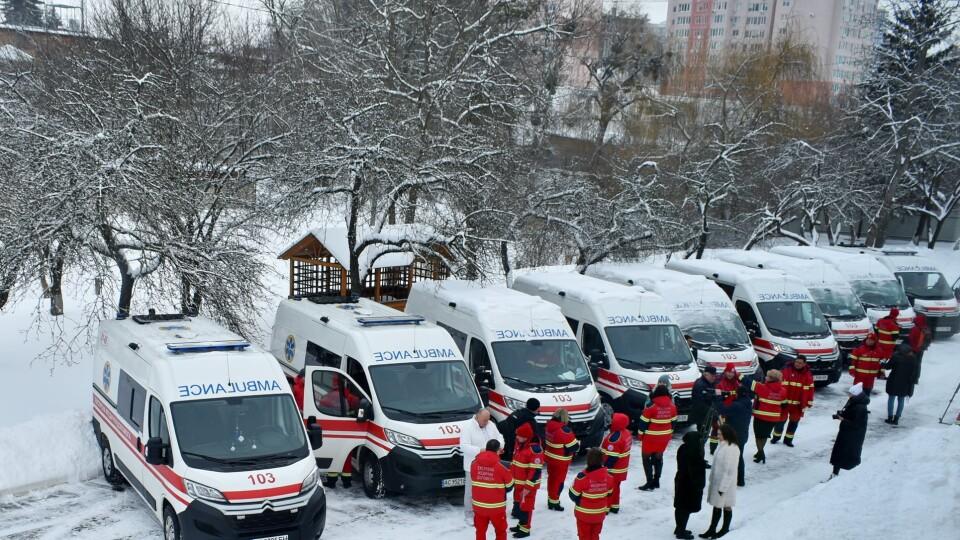 Волинські медики отримали нові автомобілі «швидкої допомоги»