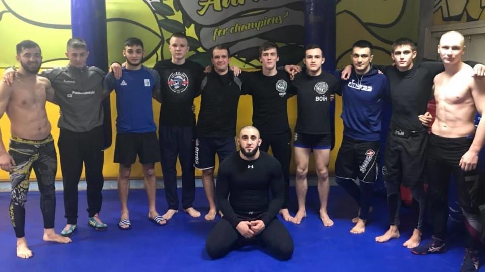 Як «воїни» готуються до Чемпіонату України з ММА. ФОТО