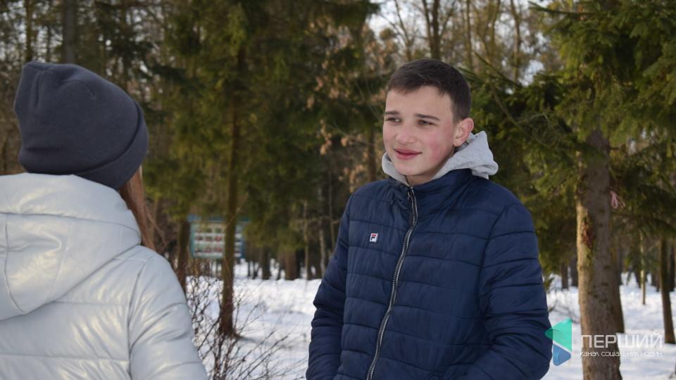 «Я не думав тікати», – 15-річний лучанин розповів, як врятував самогубця. ФОТО