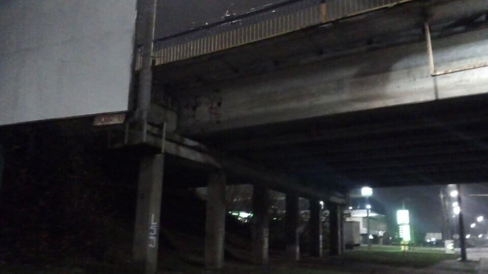 Жінка, яка вночі у Луцьку впала з мосту, навіть не травмувалася