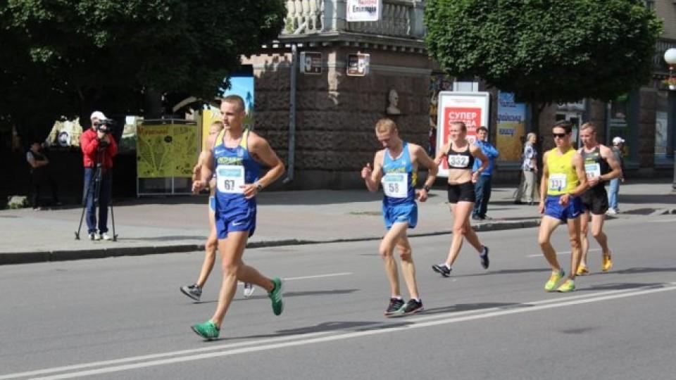 У Луцьку - міжнародні змагання зі спортивної ходьби