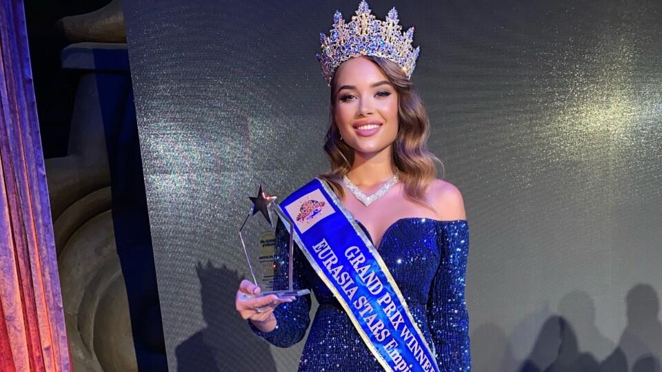 Лучанка перемогла на конкурсі краси «Королева Євразії»