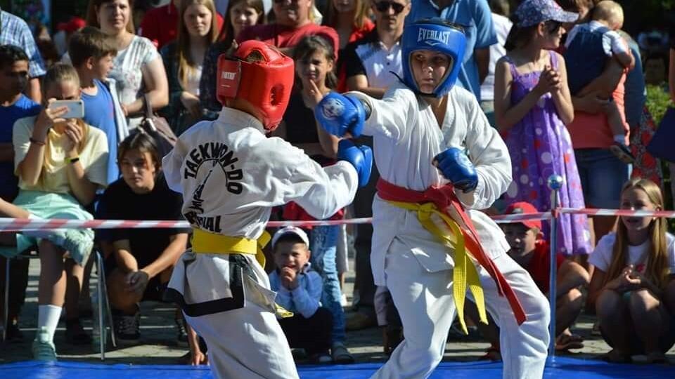У Торчині до Дня молоді відбулися змагання з рукопашного бою. Фото