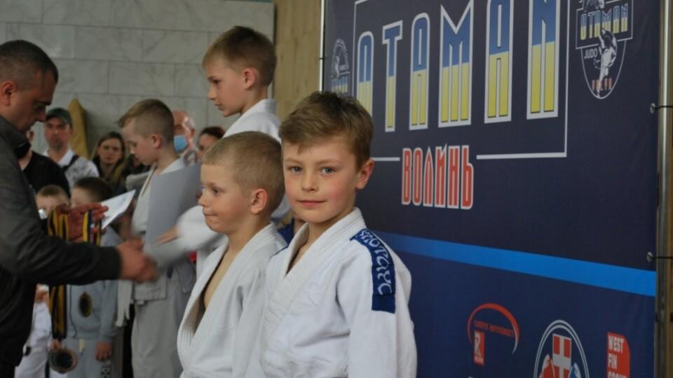 До Луцька на відкритий турнір із дзюдо з'їхалися сотні дітей