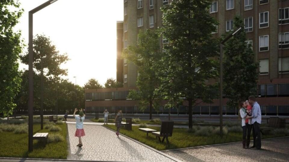 У Луцьку оновлять сквер біля 26-ї школи