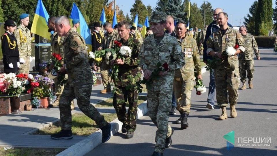 Лучани вшанували пам'ять полеглих бійців. ФОТО