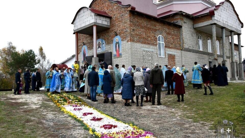 Біля Луцька відкрили церкву