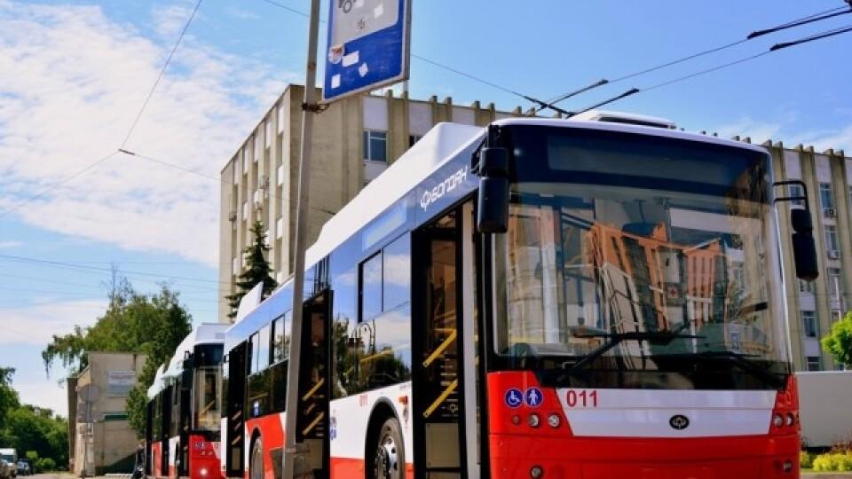 Луцьк отримав нові тролейбуси. Їх хочуть пустити на маршрути №5 та №12