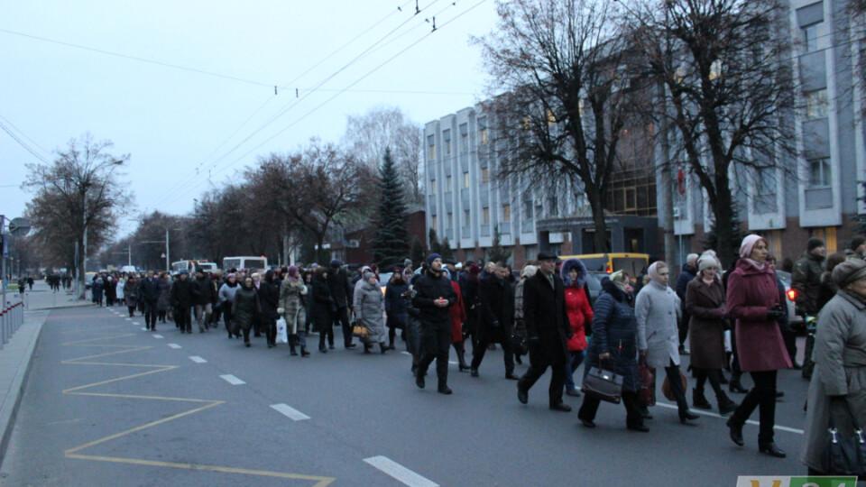 У Луцьку через громадську ходу перекриють рух на центральних вулицях