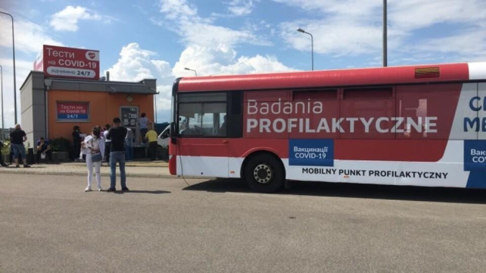 На кордоні з Польщею почали вакцинувати заробітчан