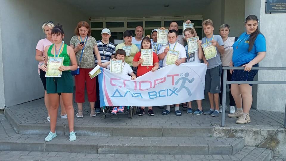 У Володимирі відбулися щорічні змагання для дітей з інвалідністю