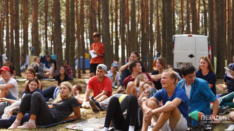 На Волині вперше провели медіа-табір для молоді. ФОТО