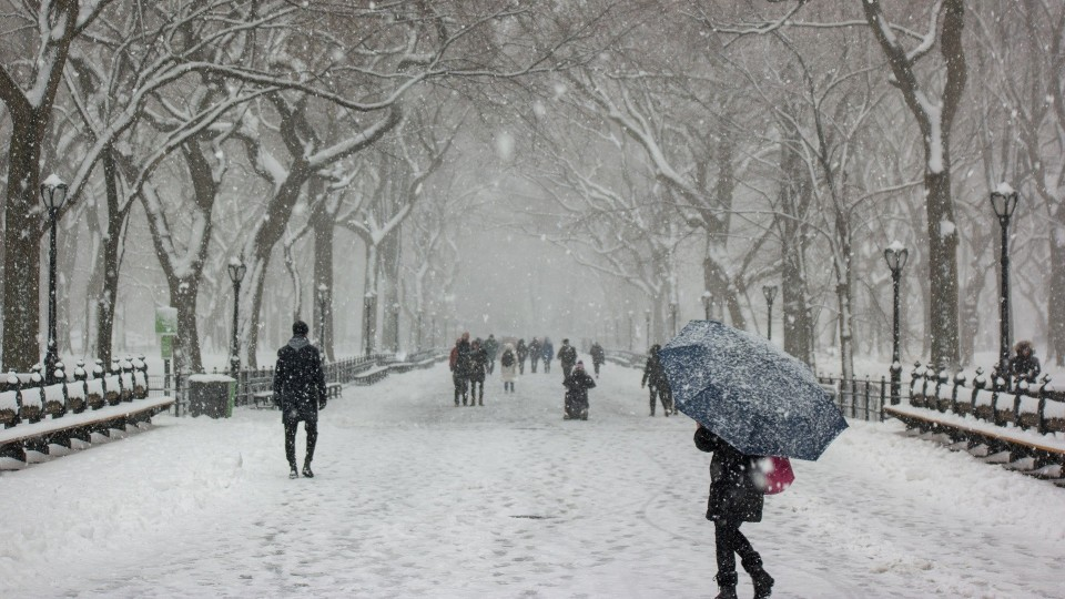 На вихідних Волинь замете снігом