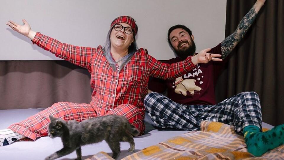Луцька агенція PaRtyzan відгуляла Новий рік в піжамах і на матраці