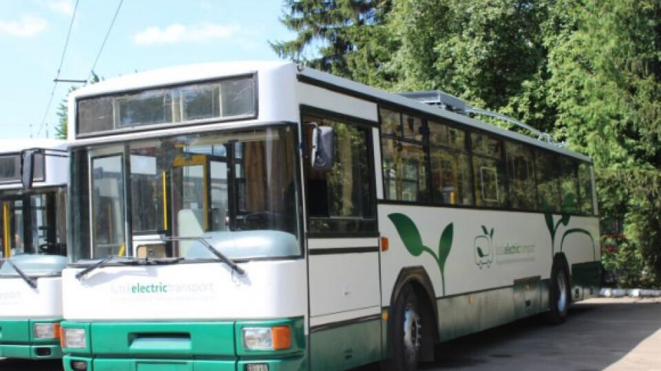 У Луцьку змінили маршрут тролейбуса №2
