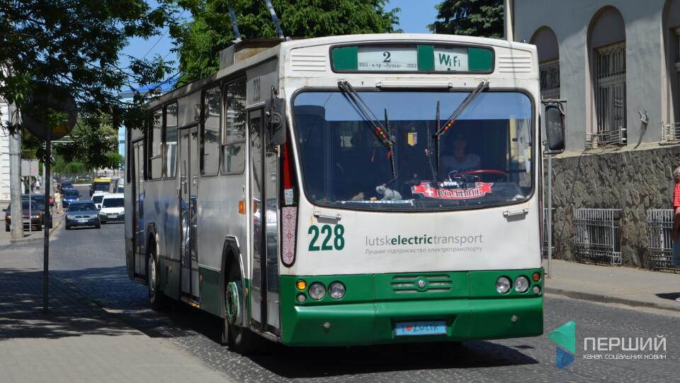 У Луцьку може здорожчати проїзд у тролейбусах