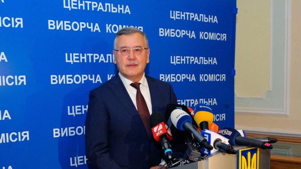 «Я йду на один президентський термін», - Гриценко