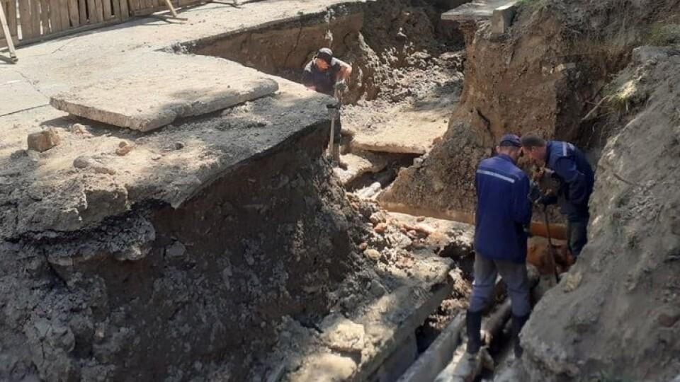 У Луцьку, через прорив труби, на декількох вулицях немає гарячої води