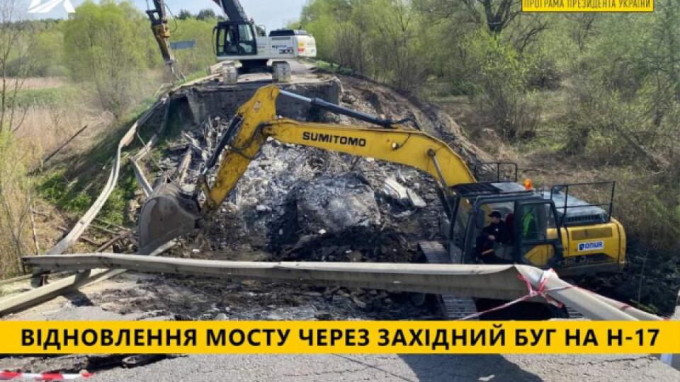 На трасі «Луцьк-Львів» побудують новий міст через Західний Буг