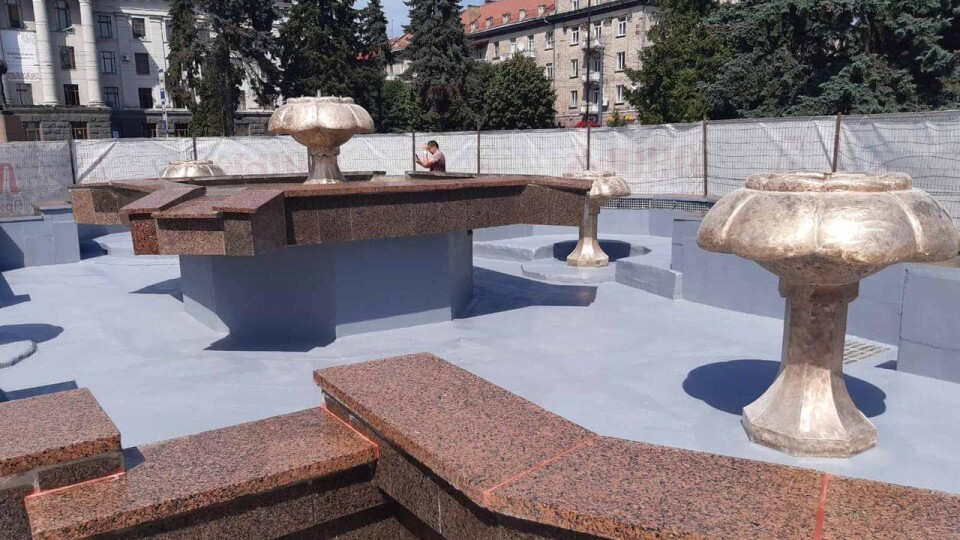 У Луцьку відновили фонтан на проспекті Волі
