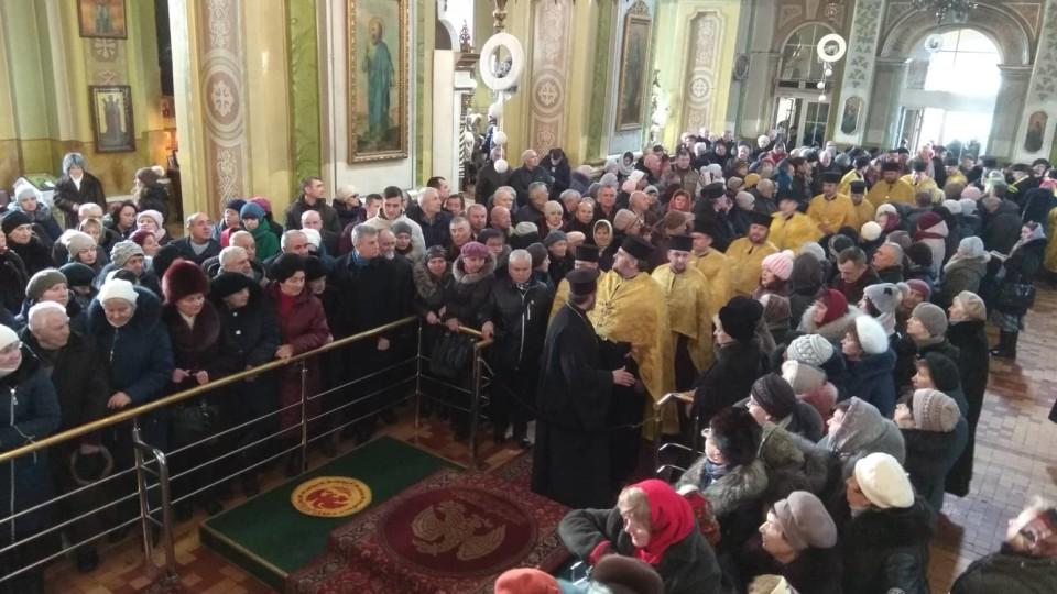 У луцькому Соборі чекають Президента. ФОТО