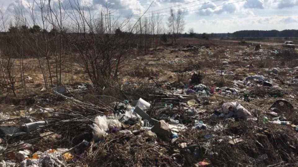 На Волині лісівники взялися розчищати сміттєзвалища в селах. ФОТО
