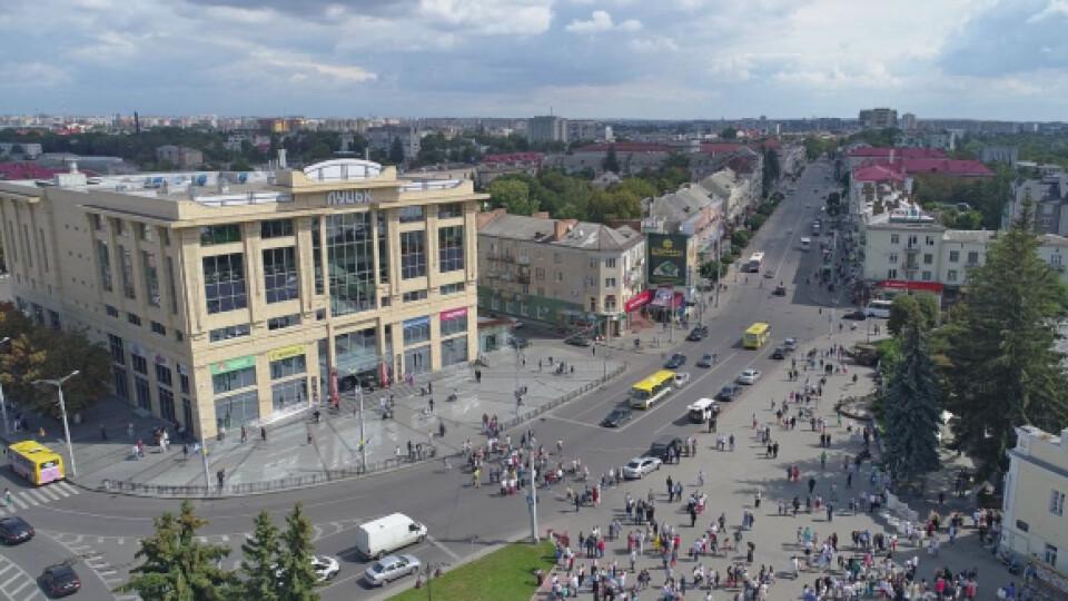 На деяких дорогах Луцька перекриють рух на День Незалежності. Перелік