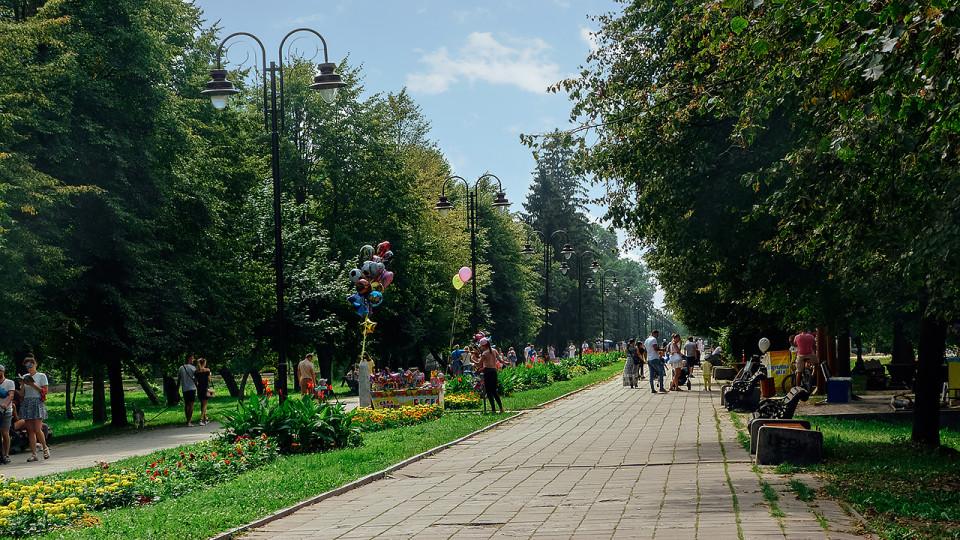 Ремонт центральної алеї в луцькому парку: вирубають хащі і відремонтують фонтани