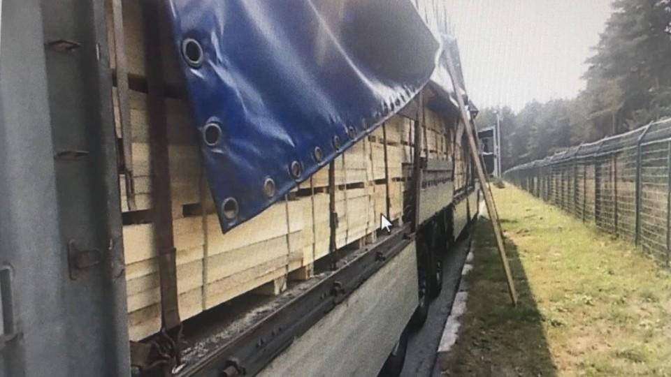 Сумчанин намагався незаконно перевезти через «Ягодин» лісматеріали
