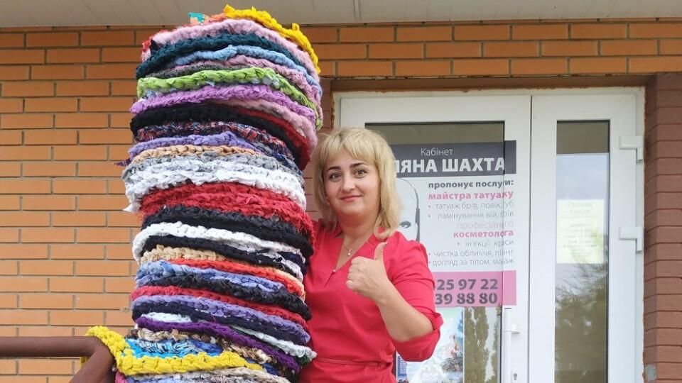 Староста Боратинської громади перемогла в «килимковому» челенджі