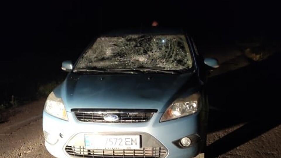 Біля Луцька таксист збив людей та хотів втекти. Один з постраждалих – у реанімації