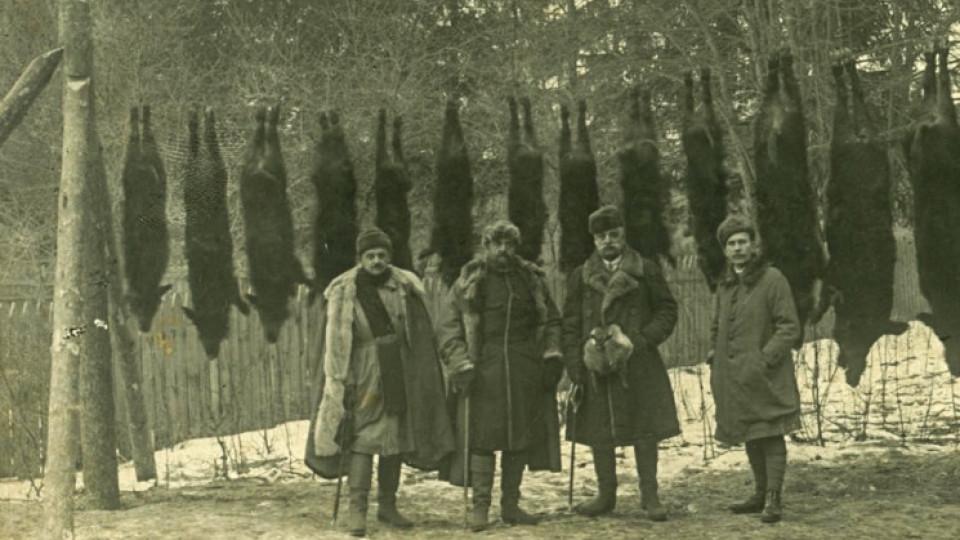 Полювання поблизу Олики на ретросвітлинах 100 років тому. ЗГАДАТИ ВСЕ