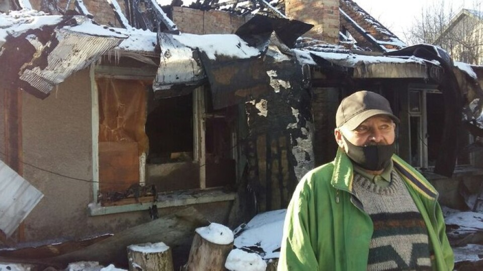 Волинянина, у якого згорів будинок у Жидичині, прихистили сусіди