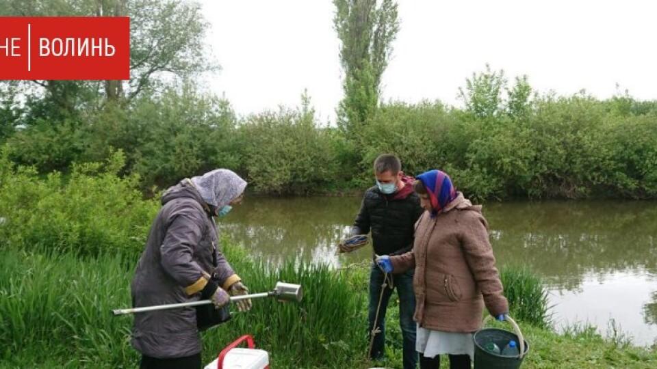 Екологи почали перевірку води з річки Стир