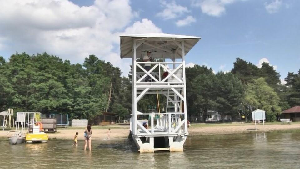 Ще на двох пляжах Шацьких озер будуть рятувальні пости