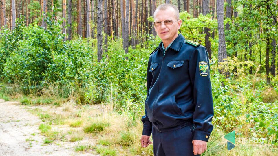 «Хто не любить лісу, довго тут не затримується», – лісничий Віталій Сидорчук