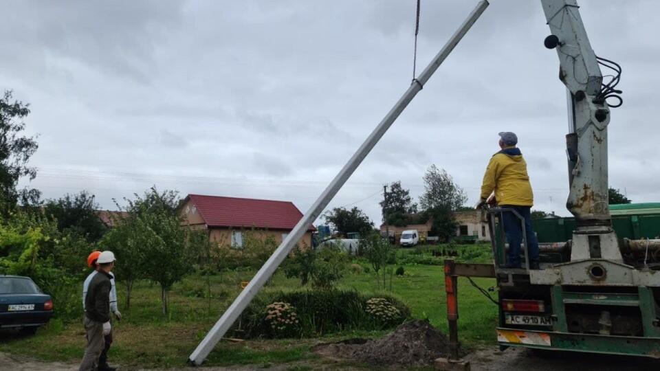 У двох селах Підгайцівської громади облаштовують LED-освітлення